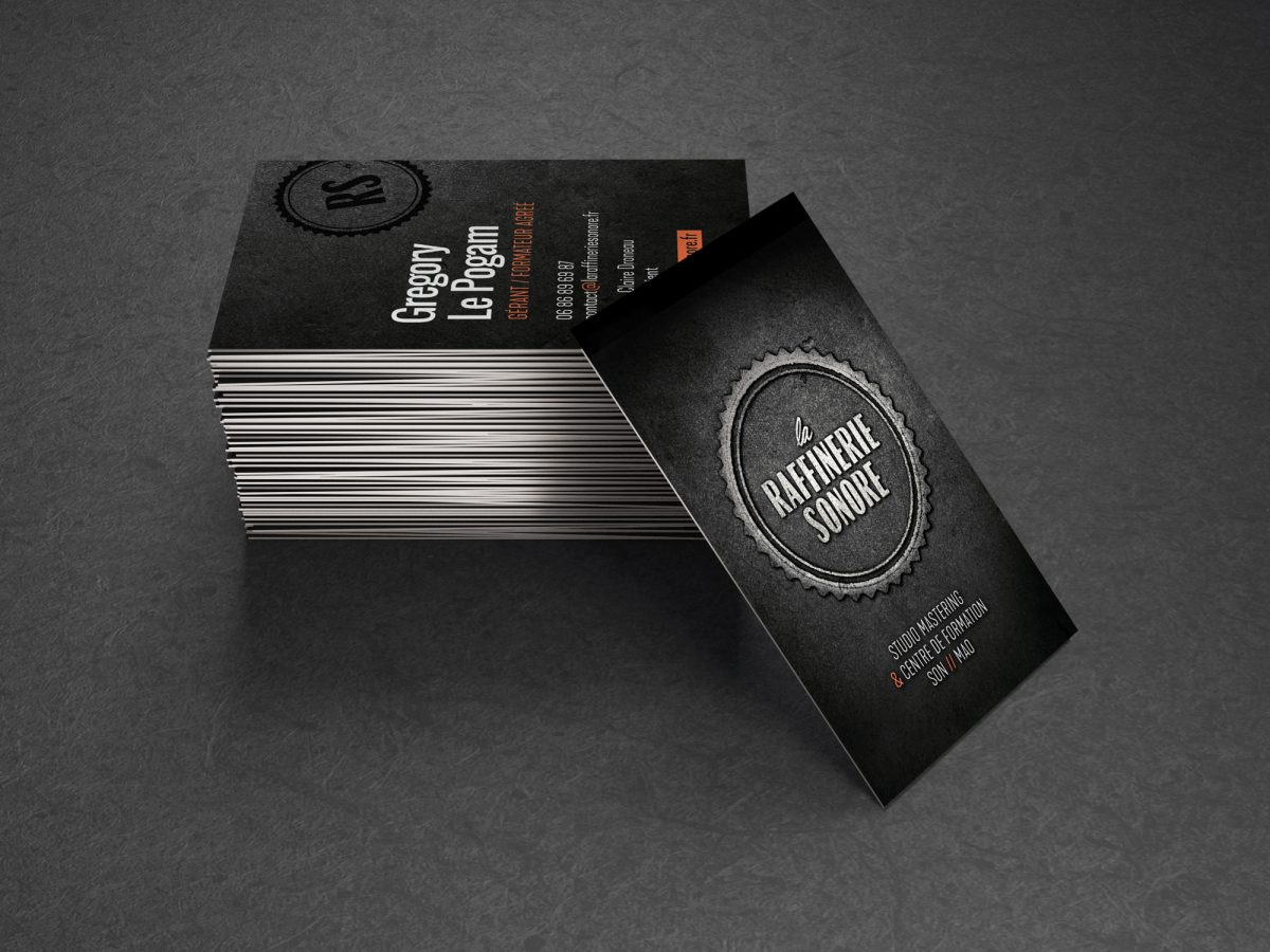 Black and gold blank business cards mockup